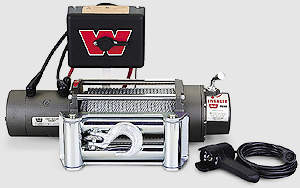 winch warn 5000 m5000 self recovery winch